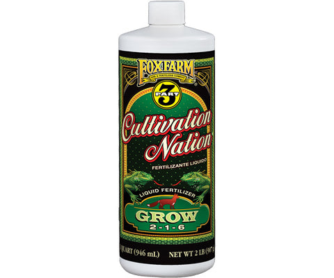 Cultivation Nation Grow 1 qt