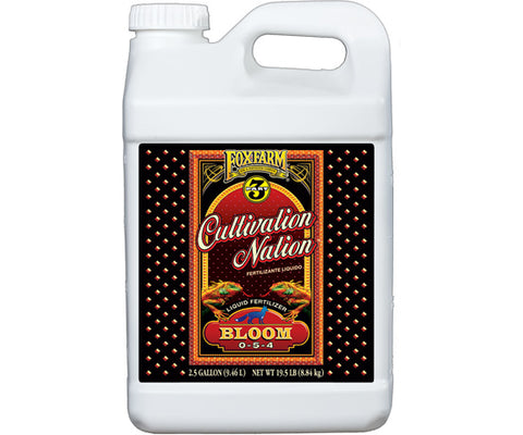 Cultivation Nation Bloom 2.5 gal