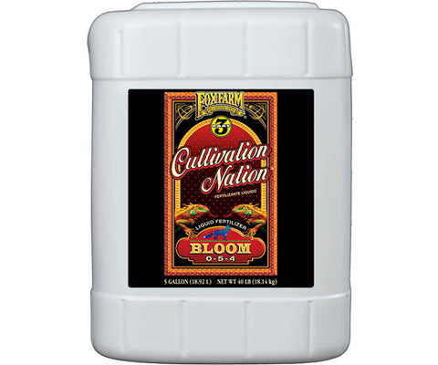 Cultivation Nation Bloom 5 gal