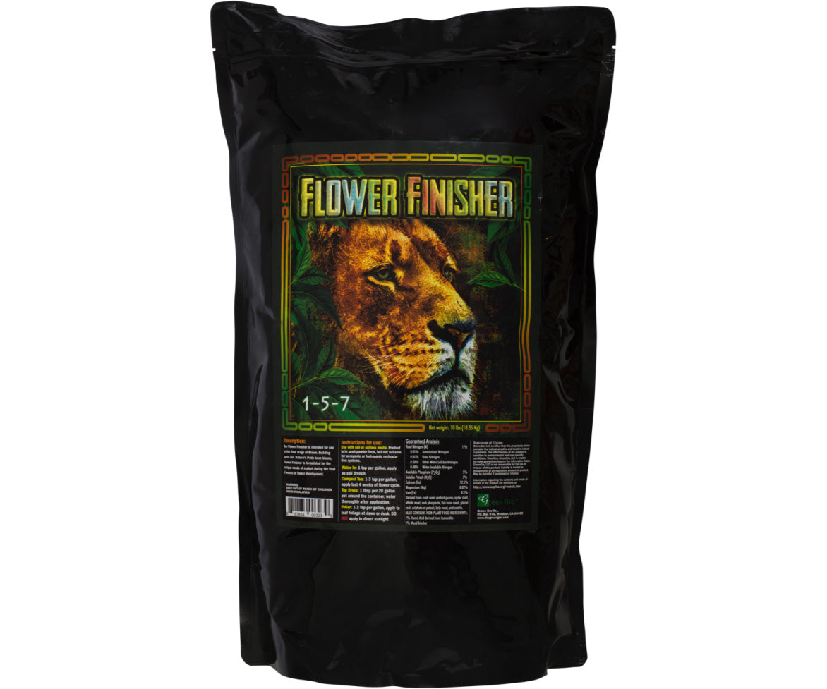 GreenGro Flower Finisher, 1-5-7, 35 lbs
