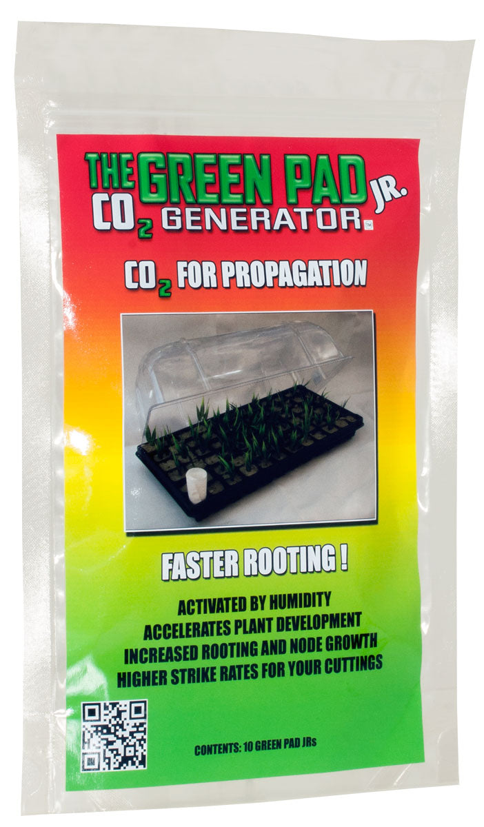 Green Pad Jr. CO2 Generator, 10 pads