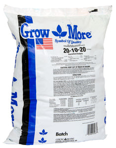 Grow More Water Soluble 20-10-20, 25 lbs