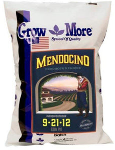 Grow More  Water Soluble Mendo  Bloom 9-21-12, 25 lbs