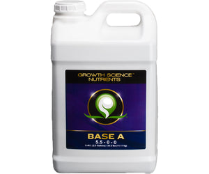 Growth Science Nutrients Base A, 2.5 gal