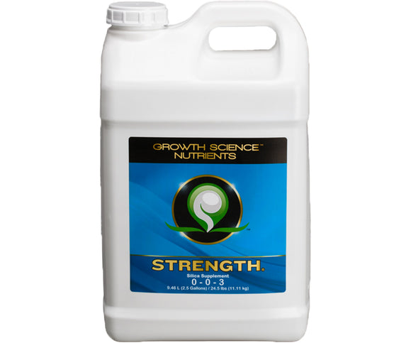 Growth Science Nutrients Strength, 2.5 gal