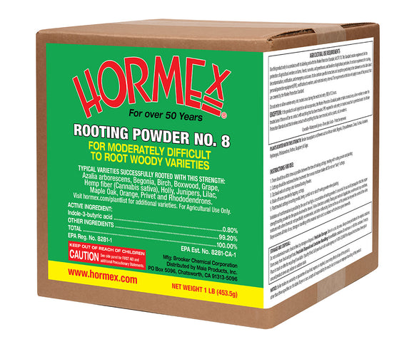 Hormex Rooting Powder No. 8, 1 lb