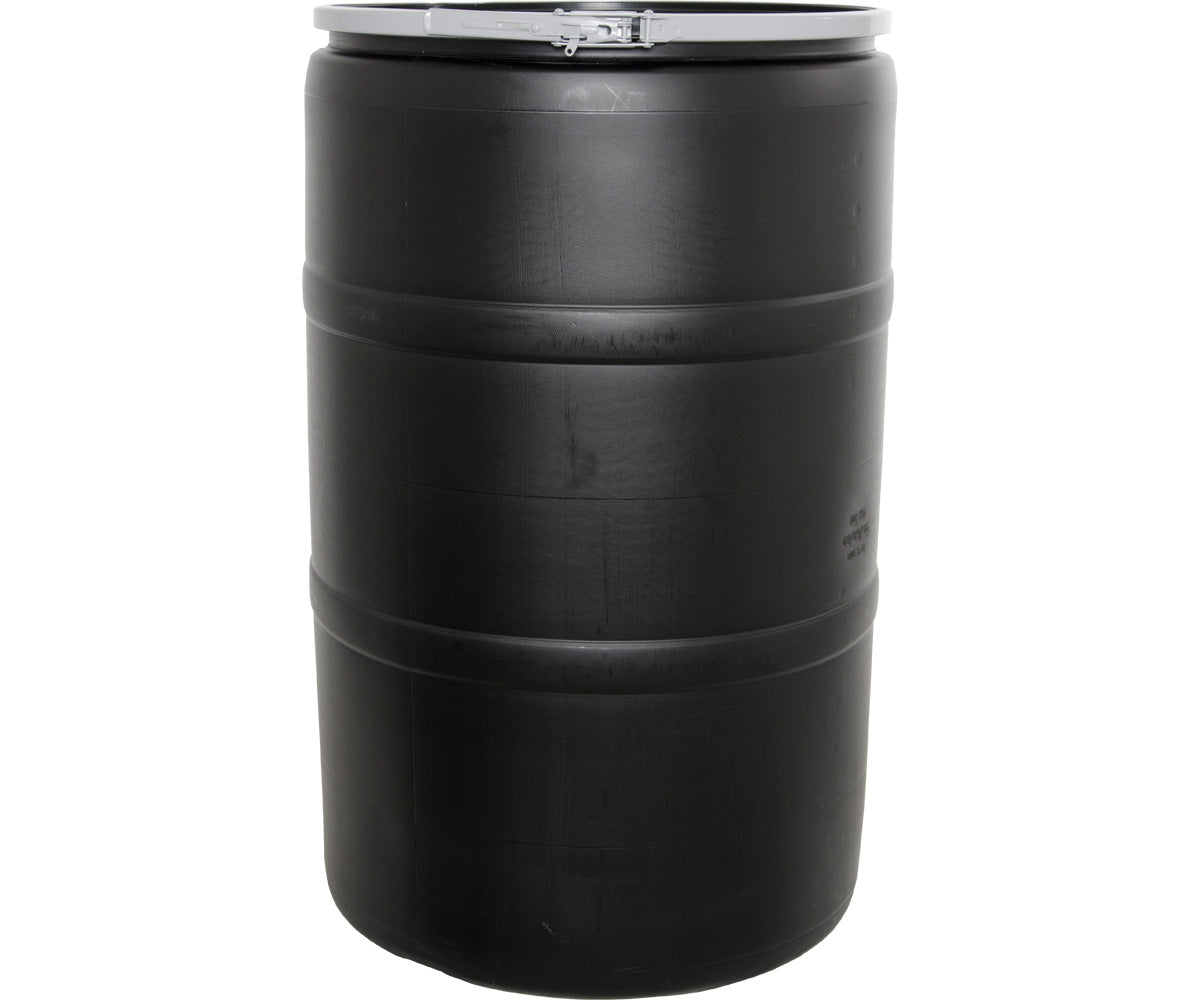 55 gal Drum with Locking Lid