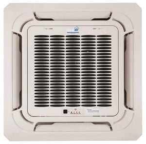 Ideal-Air Pro-Dual 12,000 BTU Multi-Zone Heating & Cooling Ceiling Mount Cassette