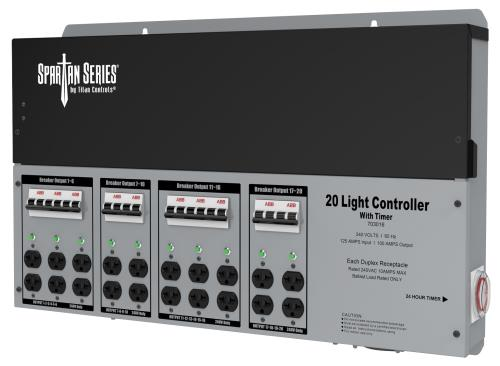 Titan Controls® Spartan Series® - Metal 20 Light 240 V Controllers