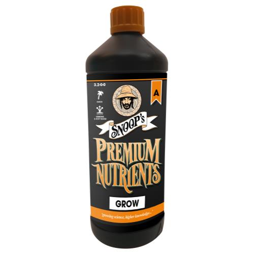 Snoop's Premium Nutrients Grow Coco A 3.2 - 0 - 0 & B 0 - 2.1 - 4.7