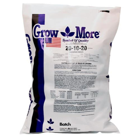 Grow More® Soilless  20 - 10 - 20