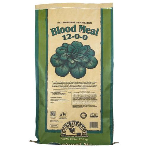 Down To Earth Blood Meal  12 - 0 - 0