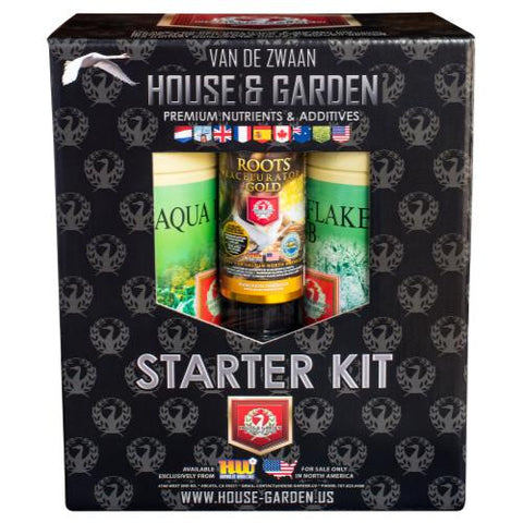 House & Garden Aqua Flakes® Starter Kit