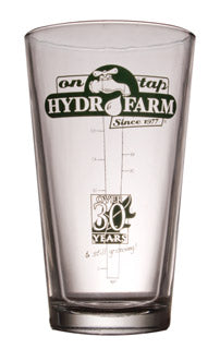 Hydrofarm Pint Glass