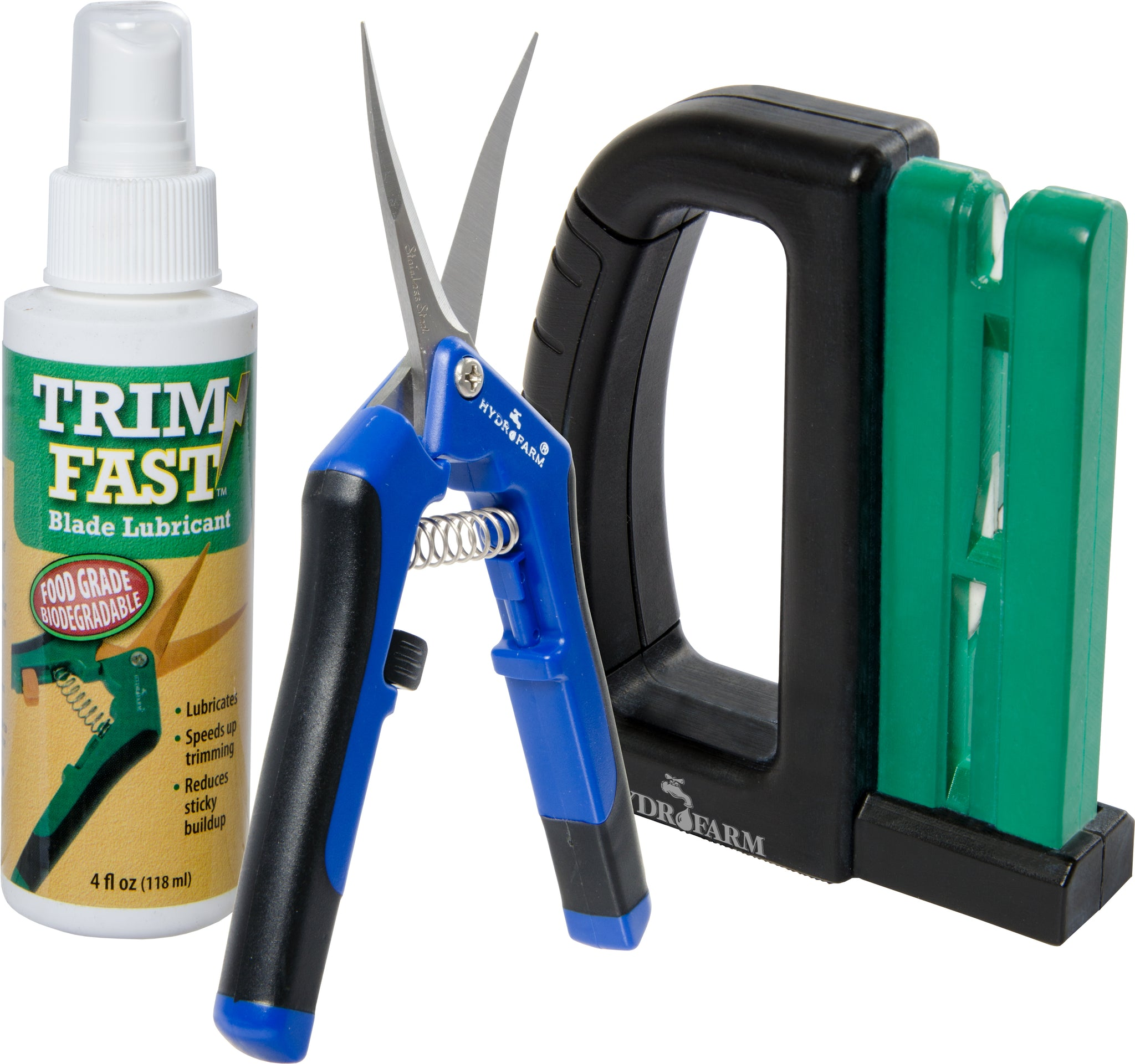 Professional Trimmer Pack w/ 12 Curved Blade Pruners