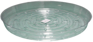 Clear 14 inch Saucer, pack of 10