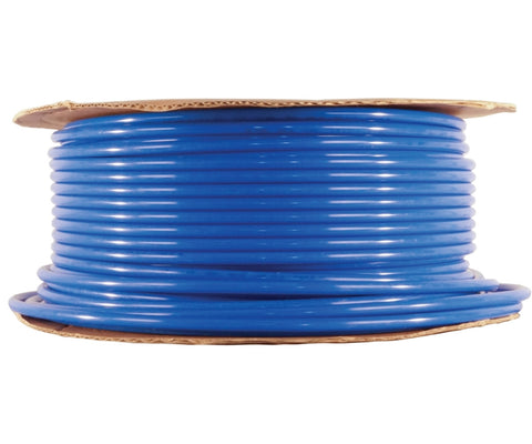 3/8 inch blue tubing, 500 feet per roll