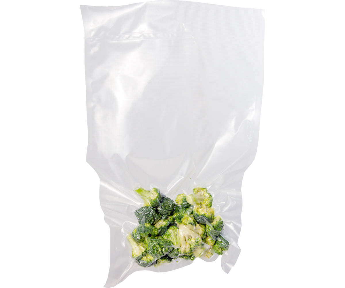 "Private Reserve Commercial Pre-cut vacuum bags, 11.8"" x 19.7"", Pack of 50"