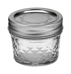 Ball Jar, 4 oz, Quilted Crystal, case of 12
