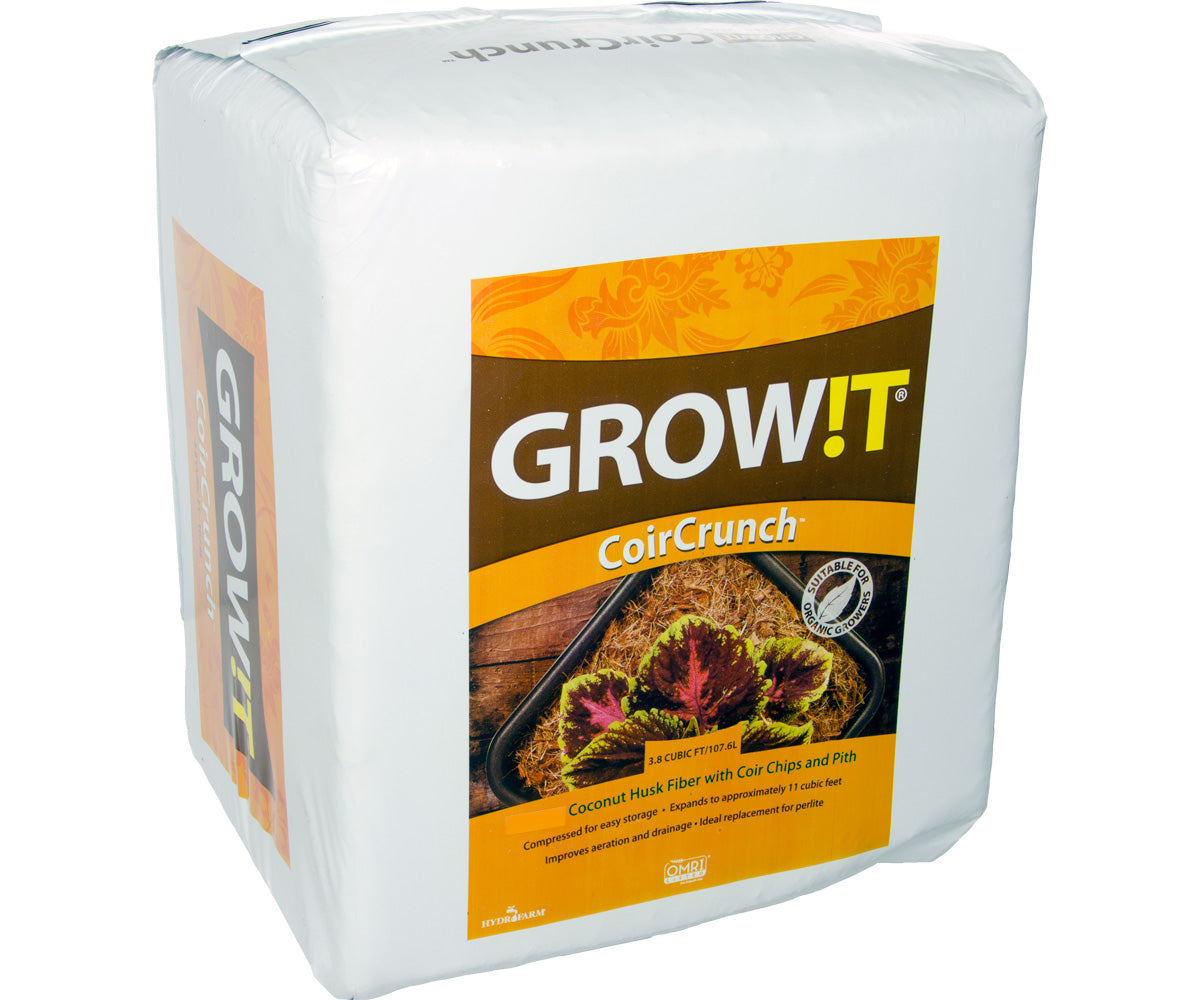 GROW!T Coco Coir Crunch Mix, 3.8 cf
