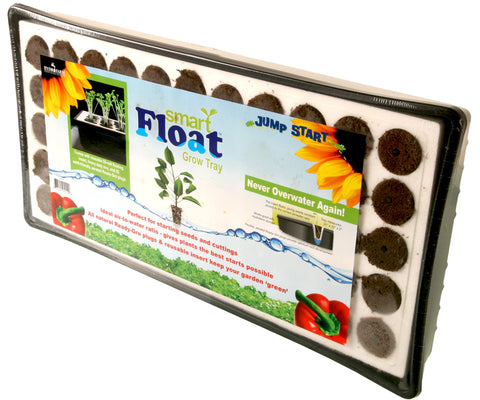 Jump Start Smart Float 55-Cell Grow Tray w/Plugs
