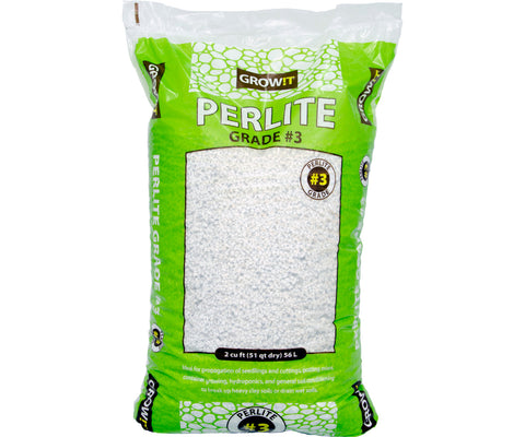 GROW!T #3 Perlite, Super Coarse, 2 cu ft