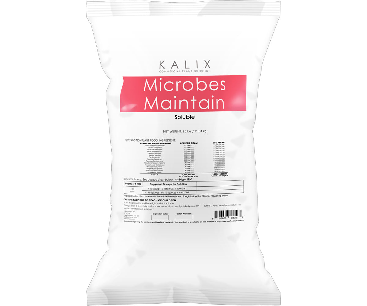 Kalix Microbes Maintain, 10 lb (soluble)