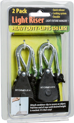 Hydrofarm Heavy Duty Light Riser, pack of 2