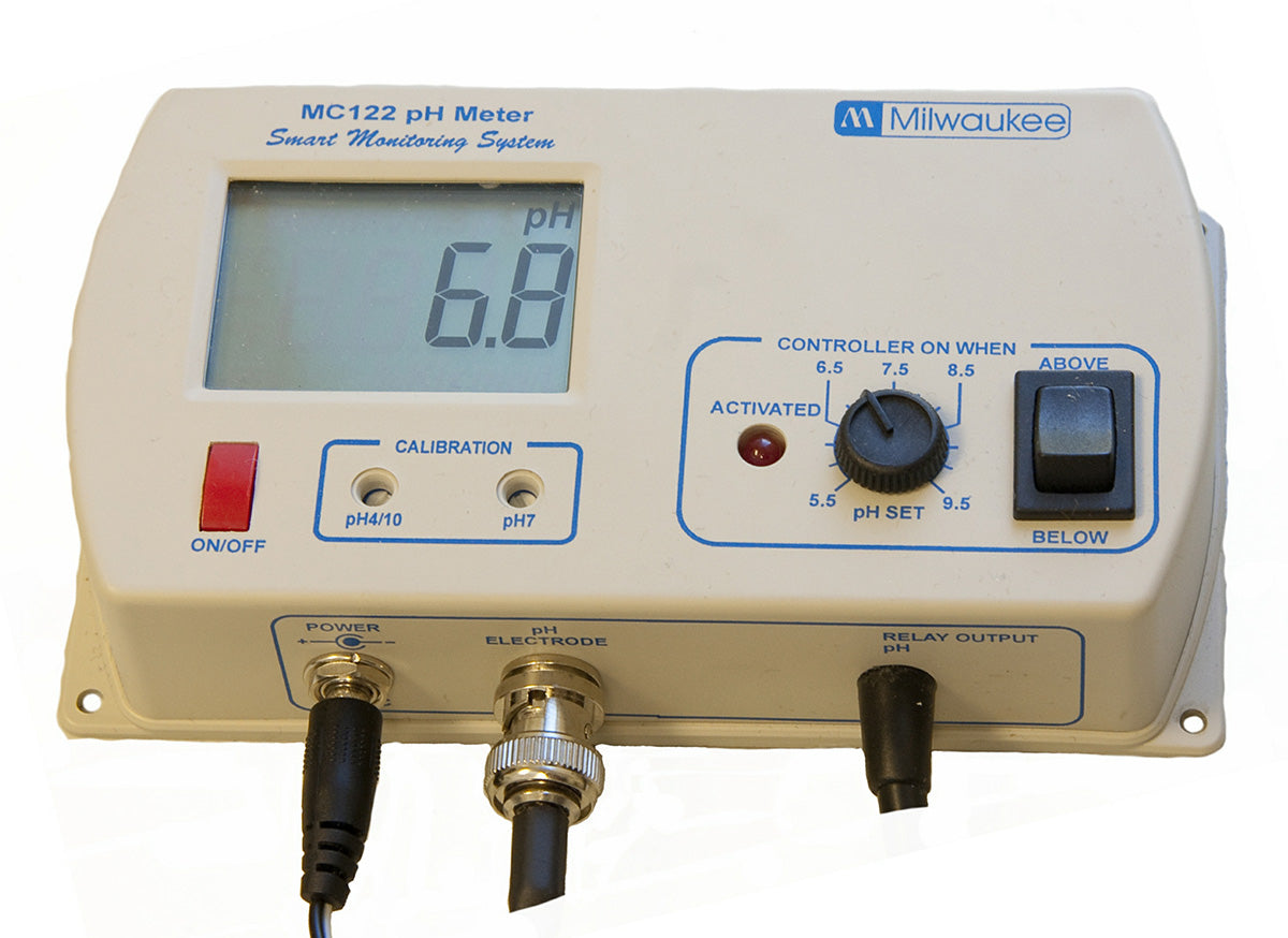 PH Controller w/ Hi-Low Activation & User Set Point