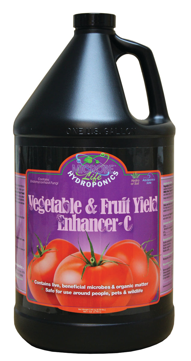 Vegetable & Fruit Gal Yield Enhancer-C CA ONLY