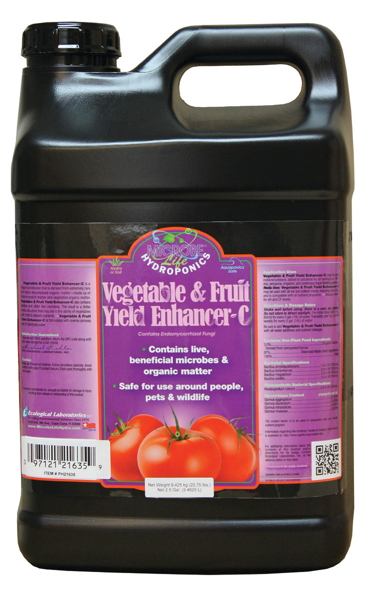 Vegetable & Fruit 2.5 Gal Yield Enhancer-C CA ONLY