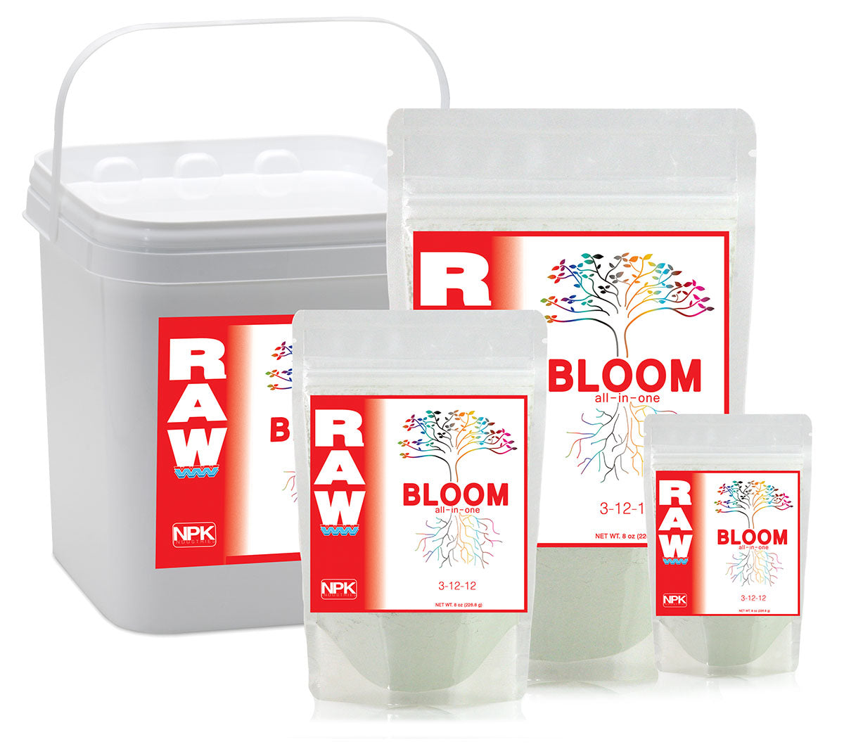 RAW BLOOM, 2 oz
