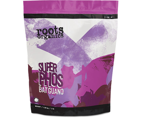 Roots Organics Super Phos Bat Guano, 20 lbs