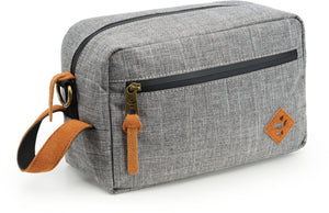 The Stowaway Toiletry Kit, Crosshatch Grey