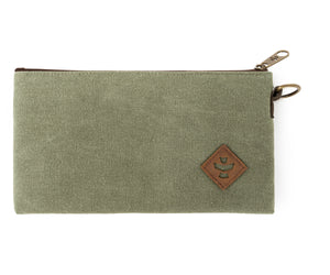 Broker - Sage, Zippered Money Bag