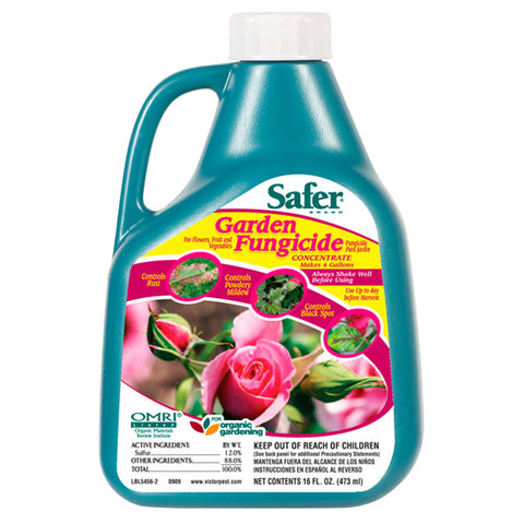 Safer Garden Fungicide Concentrate, 16 oz