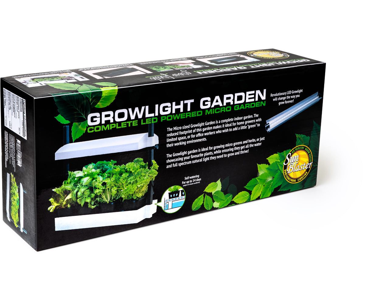 SunBlaster LED Growlight Garden, White