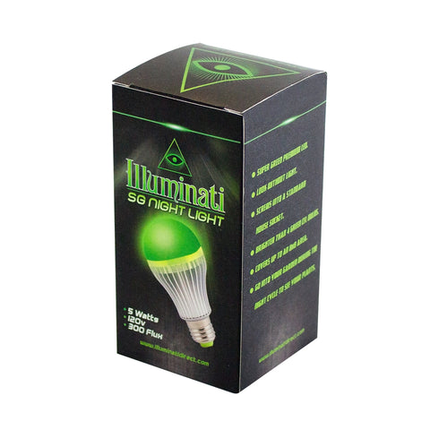 Illuminati Super Green 5W LED Night Light