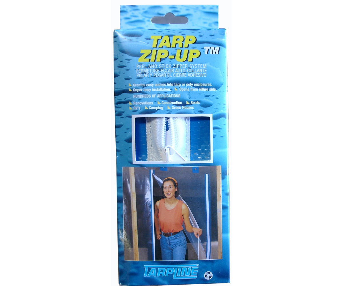 Tarpline USA Tarp Zip-Up Zipper System