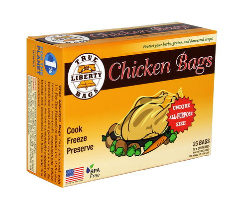 True Liberty Chicken Bags, pack of 25