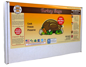 True Liberty Turkey Bags, pack of 100