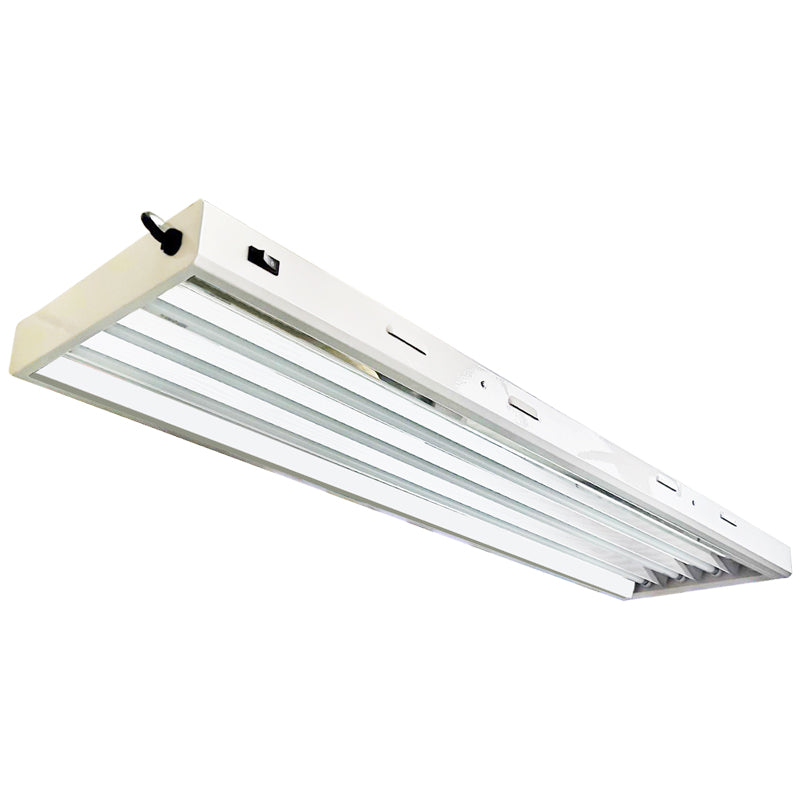 UltraGrow – 4X4 T5 Fluorescent Fixtures w/6,500K Lamps
