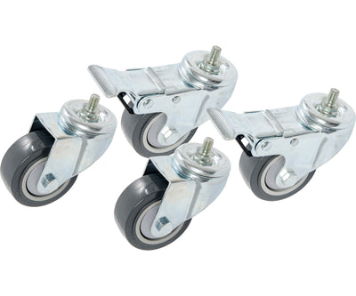 Casters for VGS300 & VGS600 Vertical Grow Shelf Systems, pack of 4