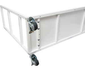 Vertical Grow Shelf System, 3 Shelves, w/Casters