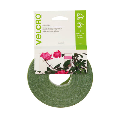 "Velcro® Plant Ties, 45' x 0.5"" Green, pack of 6"