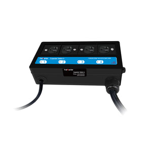 Hydro-X 4 Outlet Expander Station (with trigger cable for mutiple devices control)
