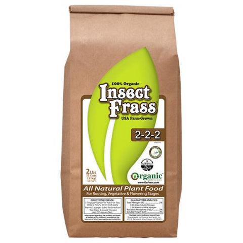 Organic Nutrients Insect Frass  2 - 2 - 2