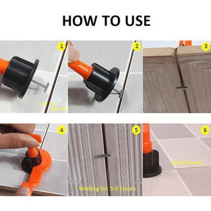 (50%off)Reusable Tile Leveling System