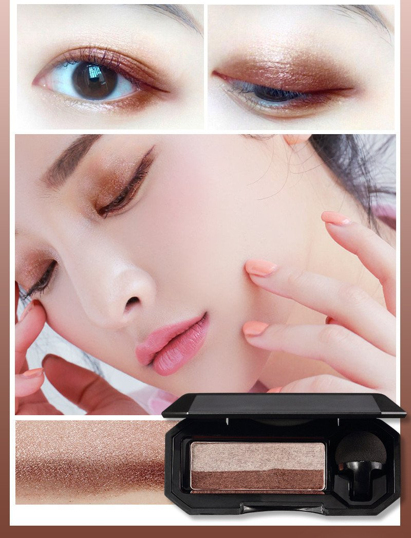 Double Color Lazy Eye Seal Eye Shadow