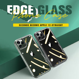 iPhone Straight Edge Glass Phone Case